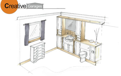 Creative Garages Sketch, garage conversions plymouth